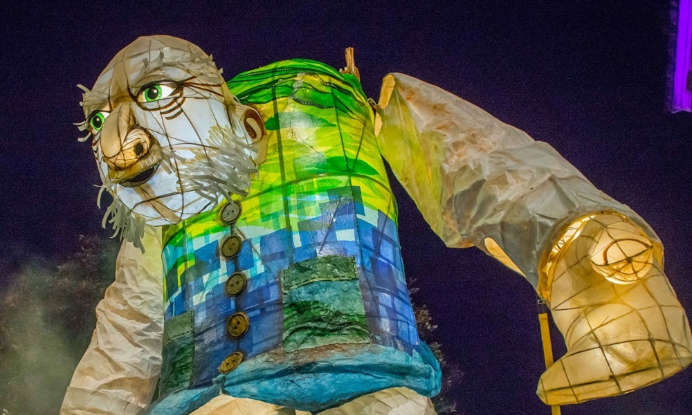 The Northern Giant by Handmade Parade (part of the Illuminated Night Carnival Parade)