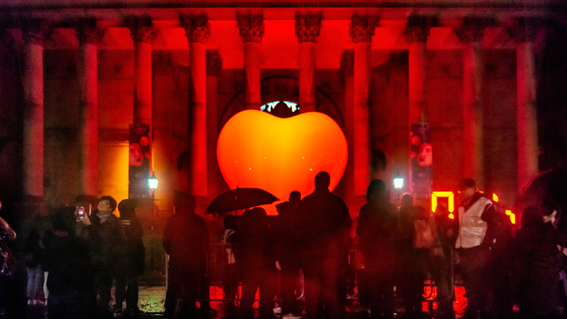Light Night Leeds 2019 - With Love...